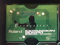 SR-JV80-02 ORCHESTRAL expansion from roland