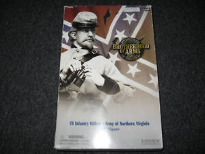 1/6 SideShow Civil War CS Infantry Officer Northern Virginia