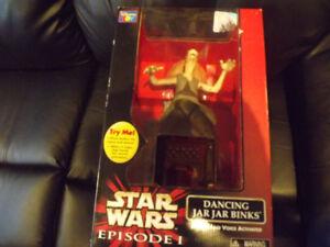 Star Wars Episode l Dancing jar jar Binks