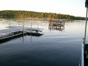 Floating Dock with Diving Board
