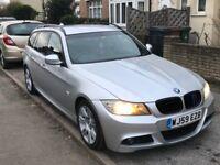 BMW 320d M SPORT TOURER Lci, auto, diesel. LOW MILAGE under 77000 (genuine) 2009