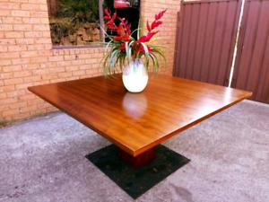 Tasmanian Oak Custom Made Dining Table Rosemeadow Campbelltown Area Preview