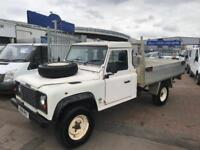 1995 N LAND ROVER DEFENDER 130 PICK UP FLATBED VERY RARE 4x4 SUPERB ALL ROUND !!