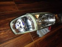 Subaru sti clear crystal headlights genuinene