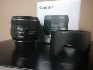 Canon 35 F2 IS Lens