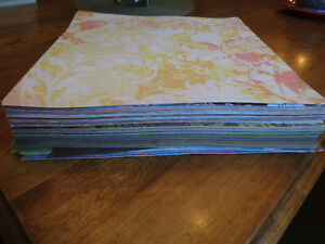 Huge Stack Of Scrapbook Paper Kingston Kingston Area image 1