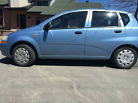2005 Suzuki Swift Familiale