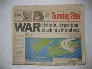 Large selection of Historic Newspapers (New Price)