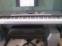cours de piano et guitare à votre domicile 20$\hre