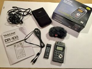 Tascam DR-100 Portable Digital Recorder