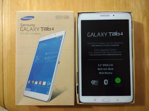 "Samsung Galaxy Tab 4, White - 8"" Display - Used"