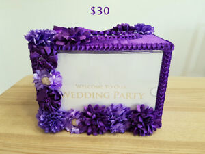 Wedding Items and Decor for Sale (Purple/Fuschia Pink theme)