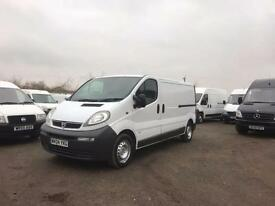 Vauxhall Vivaro 2900 1.9 DTI LWB 6 Speed. New Cambelt, Very tidy alround