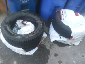 Ice and snow tires