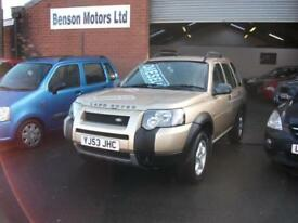 2004 LAND ROVER FREELANDER 2.0 Td4 SE Station Wagon