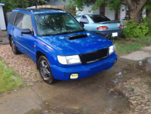 1998 Subaru Forester SF5 Turbo AWD 5 Speed with Brand new tires