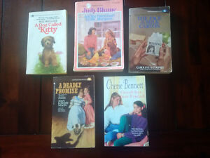 Vintage youth paperbacks - just $20 for all five. Authors: Judy