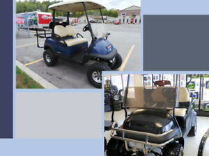 Club Car Precedent Lifted 4 passenger Gas - 2008 and 2012