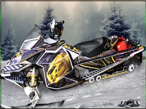 Custom Designed Sled Wraps & Snowmobile Graphics London Ontario image 1