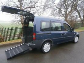 2011 Vauxhall Combo Tour 1.3 CDTi 16V 5dr AUTOMATIC WHEELCHAIR ACCESSIBLE VEH...