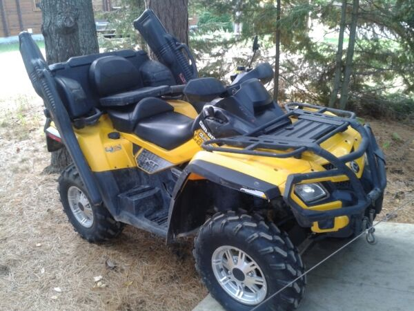 Used 2010 Can-Am Outlander Max 800 XT