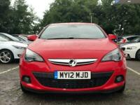 2012 Vauxhall Astra GTC 1.4 SRI S/S 3d 138 BHP Hatchback Petrol Manual