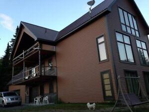 maison bi génération avec acenseur riviere et lac