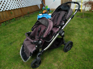 City Select double stroller with lots of extras