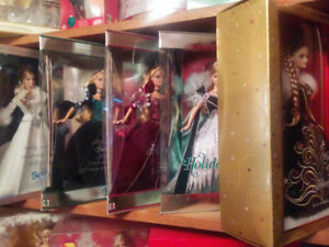 Barbie dolls Holliday 2003 to 2006