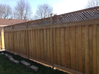 **10% off all fence and deck builds in June*** 20 years exp