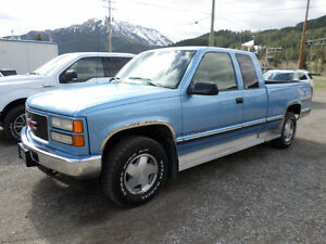 1997 GMC K1500 SL 4X4 DIESEL *ONE OWNER*
