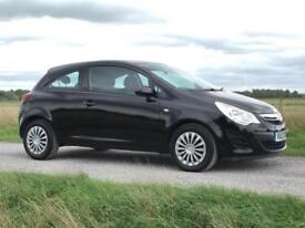 12 Vauxhall Corsa 1.3CDTi 16v75ps ecoFLEX Exclusive £20 Road Tax