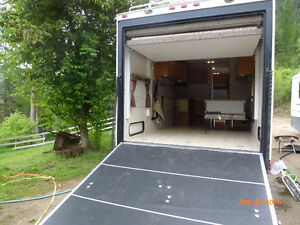 26' Toy Hauler Travel Trailer