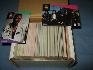 set of Music Collector Proset super stars cards  1991