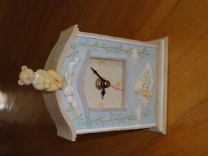 Russ teddy bear ceramic clock decorative London Ontario image 1