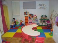 Garderie privée en milieu familial