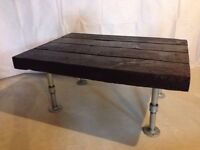 Reclaimed barn timber coffee table