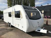 2014 Swift sprite quattro fb caravan twin axle 6 berth MAY P/X