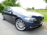 2011 BMW 5 Series 520d SE 4dr Step Auto Full BMW SH! Heated Seats! 4 door Sa...
