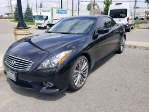 NEED GONE. Showing Thurs July 18th. 2012 Infiniti Covertible