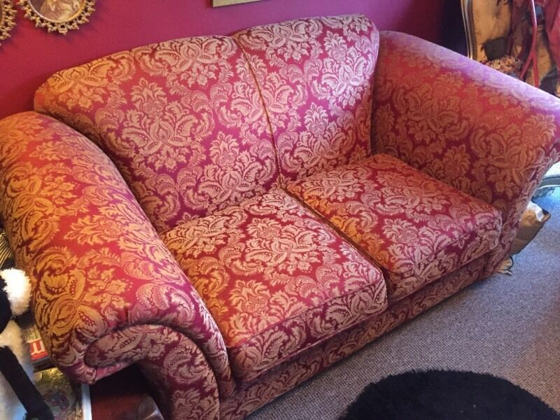 2 seater kirkdale sofa vintage traditional style immaculate shabby ...