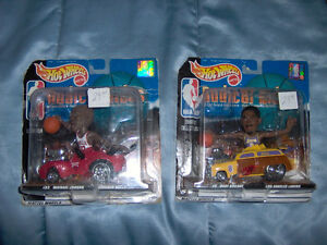 Hot Wheels Radical Rides, Michael Jordan & Kobe Bryant