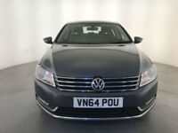 2014 64 VOLKSWAGEN PASSAT EXECUTIVE TDI BMT DIESEL 1 OWNER FINANCE PX