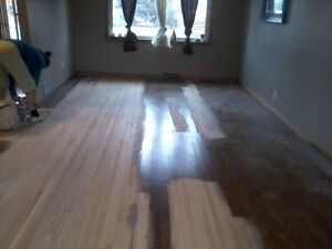 HARDWOOD FLOORS. REFINISHING AND INSTALLING RECOAT AND REPAIR Strathcona County Edmonton Area image 2