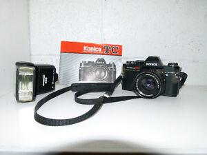 Konica Autoreflex 35mm camera