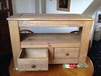Amersham two drawer TV unit pine