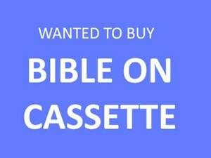 Wanted to Buy - Bible on Cassette