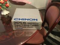 Chinon Sound Super 8 Movie Camera