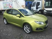 SPANISH - LHD LEFT HAND DRIVE 2009 SEAT IBIZA SPORT DIESEL - SPAIN - FULL SERV.H
