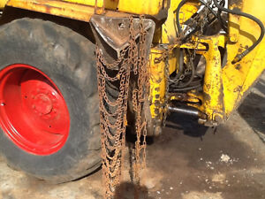 Garden Tractor Winter Wheel Chains
